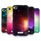 HEAD CASE DESIGNS PRINTED STUDDED OMBRE HARD BACK CASE FOR HTC DESIRE 320