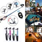 Selfie Stick Monopod Extendable Bluetooth Shutter Holder for iPhone 4/5/6/6Plus