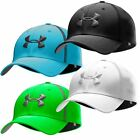 Under Armour 2015 Huddle Stretch Fit Active Performance Hat Mens Golf Cap