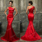 Mermaid Designer Lady Formal Bridesmaid Dress Ball Gown Party Evening Prom Dress