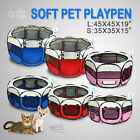 "35""45"" 600D Oxford Portable Pet Puppy Soft Tent Playpen Dog Cat Crate Pig Kennel"