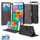 FOR SAMSUNG GALAXY GRAND PRIME SM-G530F FLIP WALLET LEATHER CASE COVER+PROTECTOR