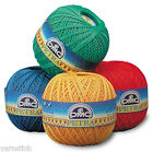 DMC PETRA Crochet Cotton Knitting Yarn Choose from Perle 8 or 5