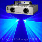 500mW Double Blue Laser Light Show System DJ Stage Lighting For CLUB Party 450nm