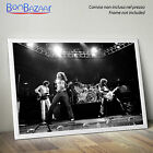 POSTER Live Led Zeppelin - Rock - Music su CARTA FOTOGRAFICA/TELA CANVAS