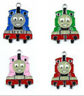 4color Thomas and friend Metal Charms pendants DIY Jewellery Making crafts 2.3cm