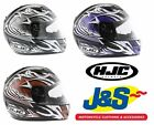 HJC IS-16 SCRATCH MOTORCYCLE HELMET FULL FACE MOTORBIKE RACE RACING NEW J&S