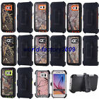 For Samsung Galaxy S6 G9200 Heavy Duty Shockproof Camo Defender Case Cover
