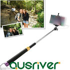 Portable Wire Controlled Selfie Stick Monopod Extendable Handheld for Smartphone