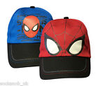 New Spiderman Authentic Summer Cap Hat Red/Blue Age 3-6 Years