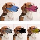 New Adjustable Nylon Dog Soft Mesh Muzzle Grooming No Bite Barking Various Sizes