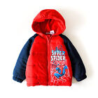 Toddler Boys Spider Man Cotton-Padded Jacket Winter Outwear FA4135RD Size 2 3 4