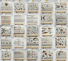 Gold Silver Metallic Flash Temporary Tattoos Stickers Temporary 50 Styles on Rummage