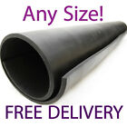All Sizes Commercial Neoprene Black Rubber Sheeting Workplace Rolls