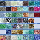 Внешний вид - GLASS GEMS MARBLE VASE FILLER AQUARIUM GRAVEL FLAT BACK MOSAIC CRAFT Sz M 3/4""