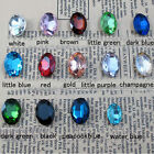 12 mm Multi Color DIY Sharp Bottom Oval Rhinestone Crystal for case (100PCS)
