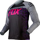 Fox Racing Womens Purple Pink Black Switch Silvah Dirt Bike Jersey MX ATV 2015
