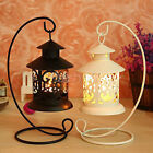 Charming European Style Birdcage Shape Iron Lantern Candlestick Candle Holder