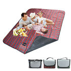 Extra Large Picnic Blanket Rug Travel Pet/Dog Caravan Camping Soft Waterproof