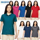 Gildan Women's 100% Polyester Moisture Wicking Performance Jersey Polo MG448L