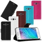 Stylish Flip Leather Card Case Cover Stand For Samsung Galaxy J5