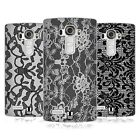 HEAD CASE BLACK LACE SOFT GEL CASE FOR LG G4
