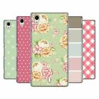 HEAD CASE DESIGNS FRENCH COUNTRY PATTERNS HARD BACK CASE FOR SONY XPERIA M4 AQUA