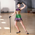 In Stock LIMITED EDITION Multi Sequin Jazz Tap Modern Dress All Sizes