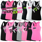 MUSCLE PHARM WOMENS GRAPHIC VESTS - SLEEVELESS TOP GYM FITNESS EXCERISE TRAINING