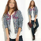 Best-chioce Women Long Sleeve Knitted Cardigan Loose Sweater Jacket Coat OZUS