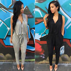 2015 Women Fashion Bodycon Sexy Clubwear Romper Jumpsuit Dress Party Pants S~XL