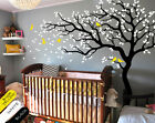 Nursery tree wall decals Unisex wall decorations Tattoo,  White tree wall decals