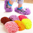 House Floor Foot Sock Shoe Mop Slipper Lazy Quick Polishing Cleaning Dusting CL