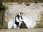 Banksy Maid Giant Wall Mural 232x315cm