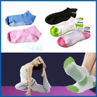 5-CHOICES NON SLIP YOGA AEROBIC PILATES SOCKS MASSAGE GRIP SPORT GYM EXERCISE
