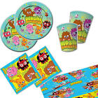 Moshi Monsters Boys Girls Essential Birthday Party Kit 8 16, 24 & More! Plates..