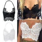 Sexy Women's Lace Floral Bralette Bralet Bra Bustier Crop Top Cami Padded Tank