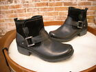 Earth Origins Paris Black Leather & Suede Ankle Boot NEW