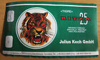 RITZA 25 WAXED TIGRE THREAD 0.8m BY JULIUS KOCH + 2 NEEDLES 20m CHOOSE COLOUR