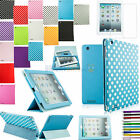 SLIM 3FOLD STAND SLEEP WAKE SMART COVER PU LEATHER CASE FOR IPAD 2 3 4 + Gifts