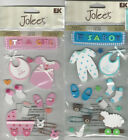 U CHOOSE  Jolee's BABY GIRL BABY BOY foam 3D Stickers baby