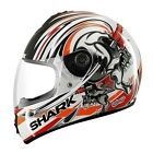 Shark S600 Helmet CHUKA CHUKA Red White Road Touring Street