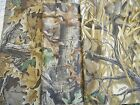 CAMO camouflage cotton t-shirt & 1x1 rib knit fabric Advantage, timber, wetlands