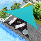 20' x 20' x 20' Triangle Sun Shade Sail Fabric Awning Patio Outdoor Canopy Cover