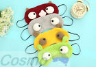 Eye Shade Sleeping Mask Blindfold Travel Game Cute Funny Cover Dark Awesome New