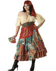 Plus Size Elite Deluxe Gypsy Fortune Teller Fancy Dress Adult Costume 2X-3X