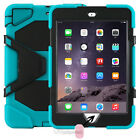"""""""Waterproof""""Case For iPad 2-3-4 Mini 123 air 1-2 Pro Shockproof Heavy Duty Stand"""