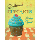 Delicious Cupcakes Wall Decal Bakery Kitchen Removable Wall Decor