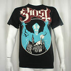Authentic GHOST BC Band Opus Eponymous Brown Logo T-Shirt S M L XL 2XL NEW