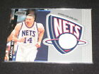 AARON WILLIAMS NETS 2001 TOPPS STADIUM CLUB CERTIFIED AUTHENTIC NBA JERSEY CARD
